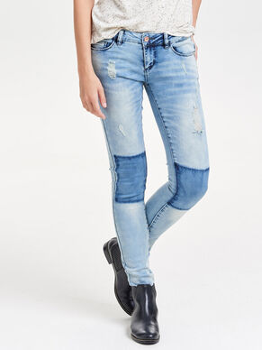 CORAL SUPERLOW SKINNY FIT JEANS