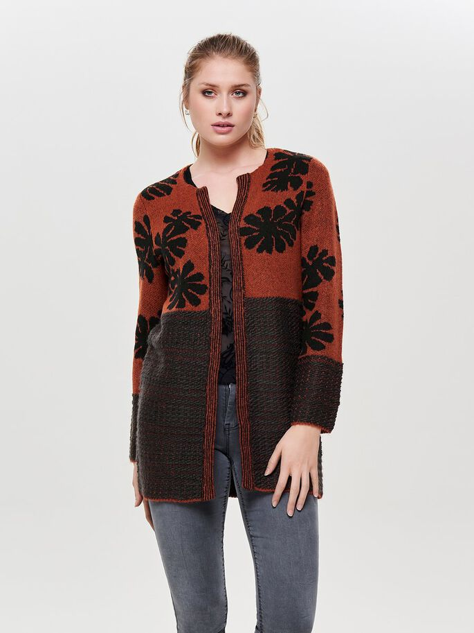 02e67cd26 Detailed knitted cardigan