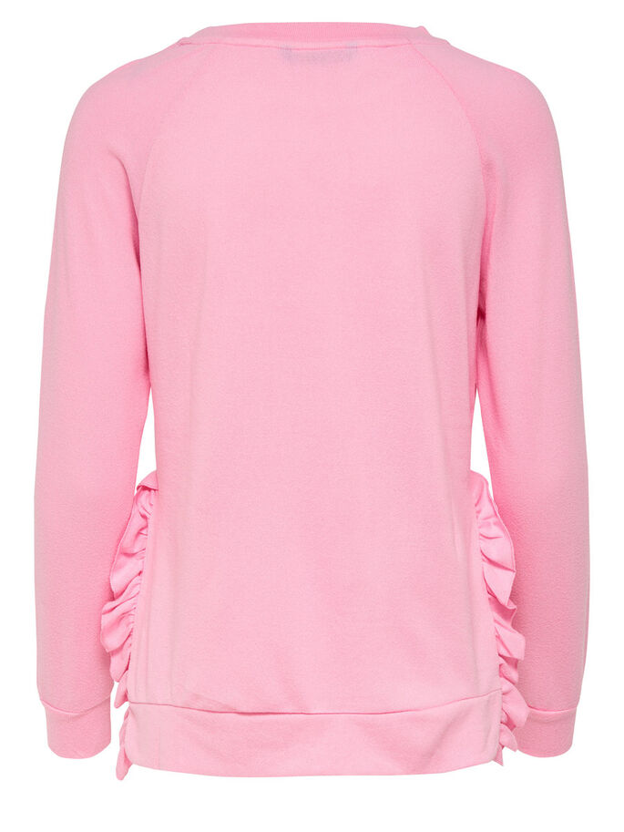 FINITIONS EN MAILLE BLOUSE, Prism Pink, large