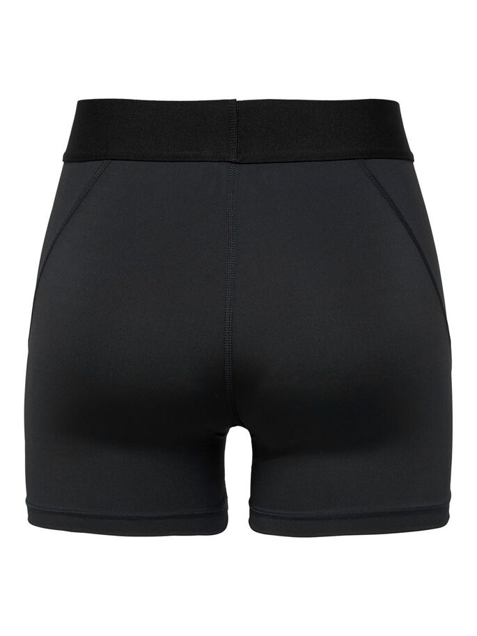 SEAMLESS TRAINING SHORTS, Black, large