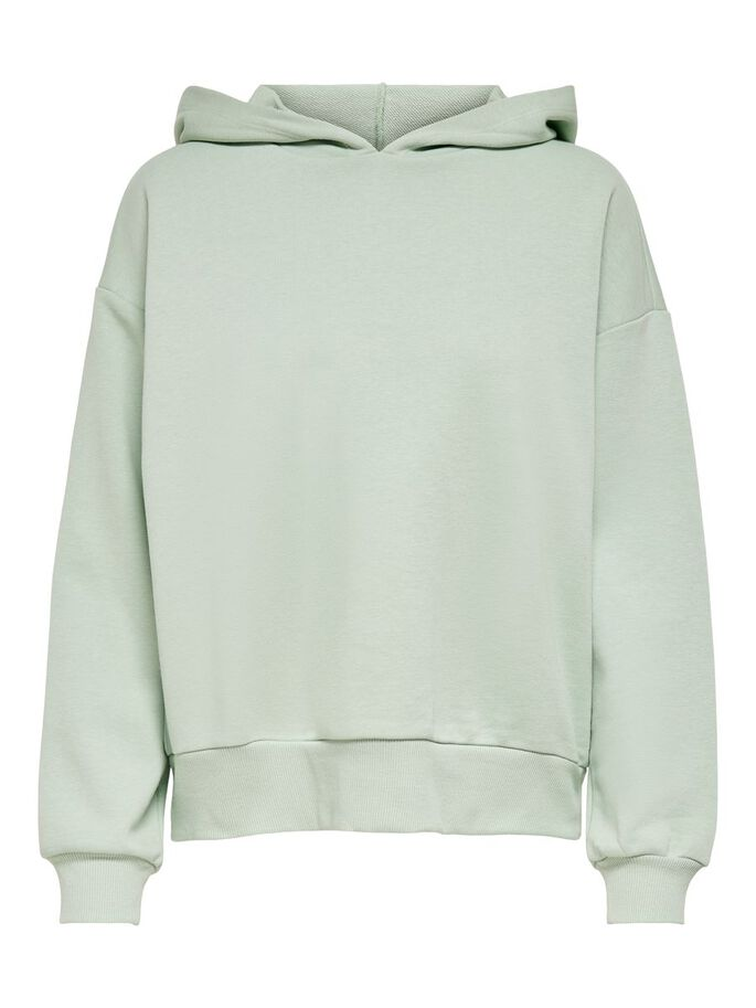 SWEAT HOODIE, Frosty Green, large