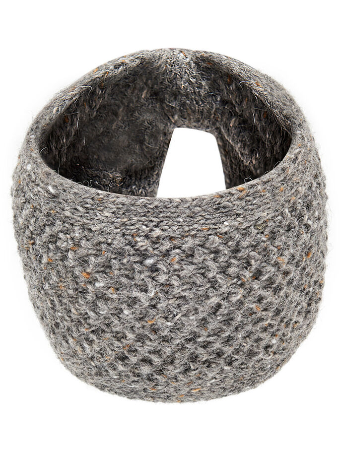 KNITTED HEADBAND, Deep Taupe, large