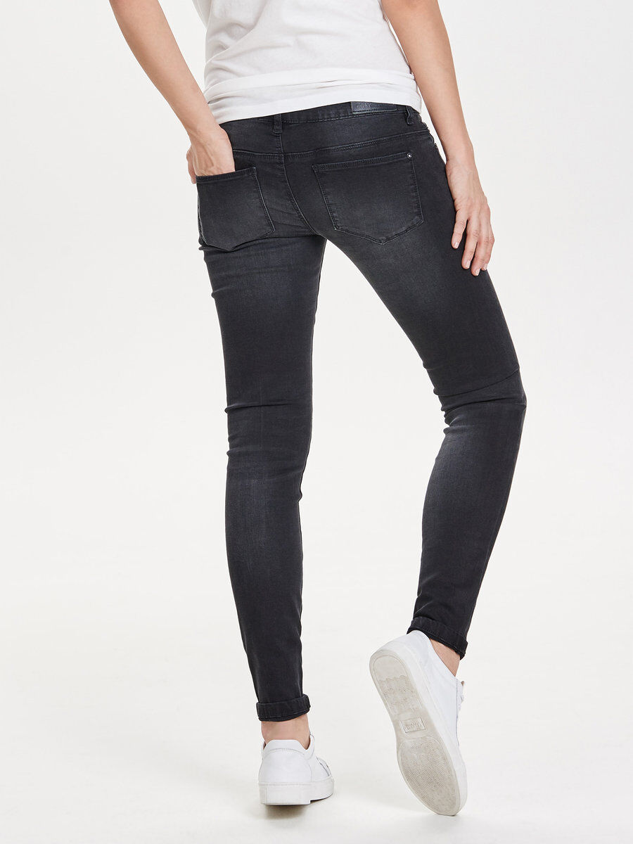 CORAL SL SKINNY FIT JEANS, Black, large