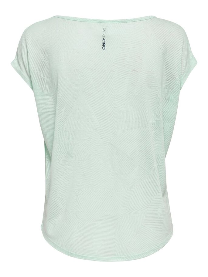 LOOSE FITTED TRAINING TEE, Icy Morn, large