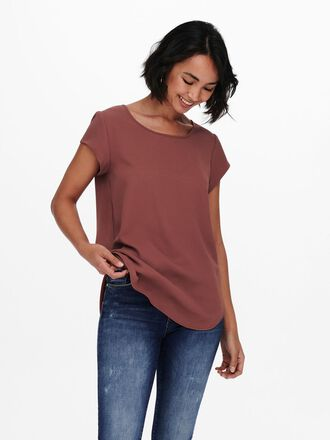 LOOSE FIT SHORT SLEEVED TOP