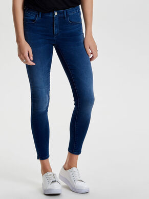 SILK TOUCH REG ANKLE SKINNY FIT JEANS