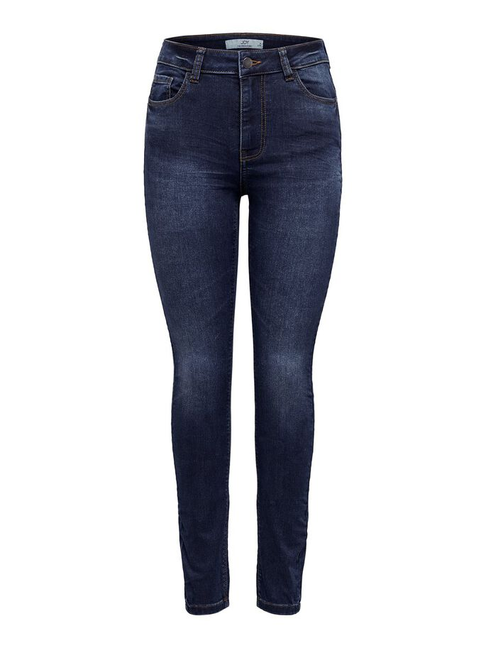 JDYNEW NIKKI LIFE HIGH SKINNY FIT JEANS, Medium Blue Denim, large