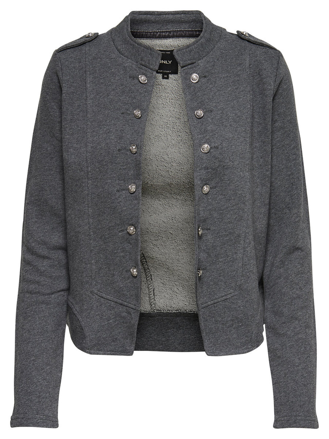 ONLY Sweat Blazer Women Grey