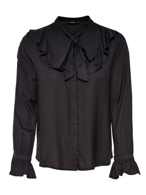 FRILL LONG SLEEVED SHIRT