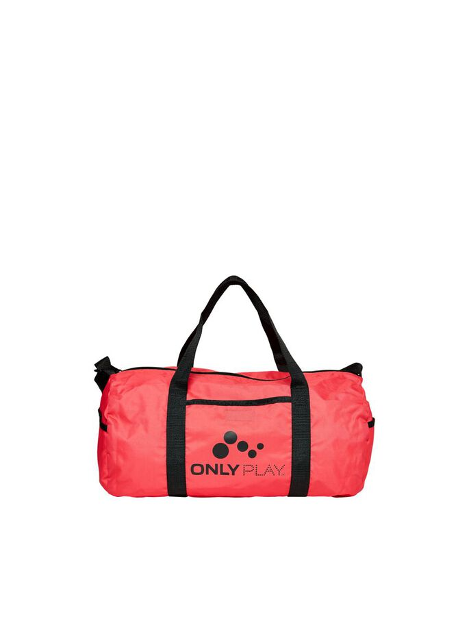 LOGO BAG, Coral, large
