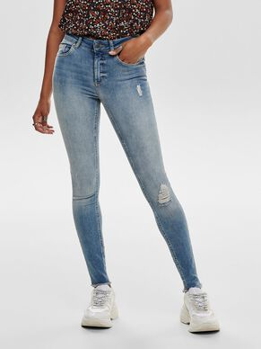 BLUSH ANKLE SKINNY FIT JEANS
