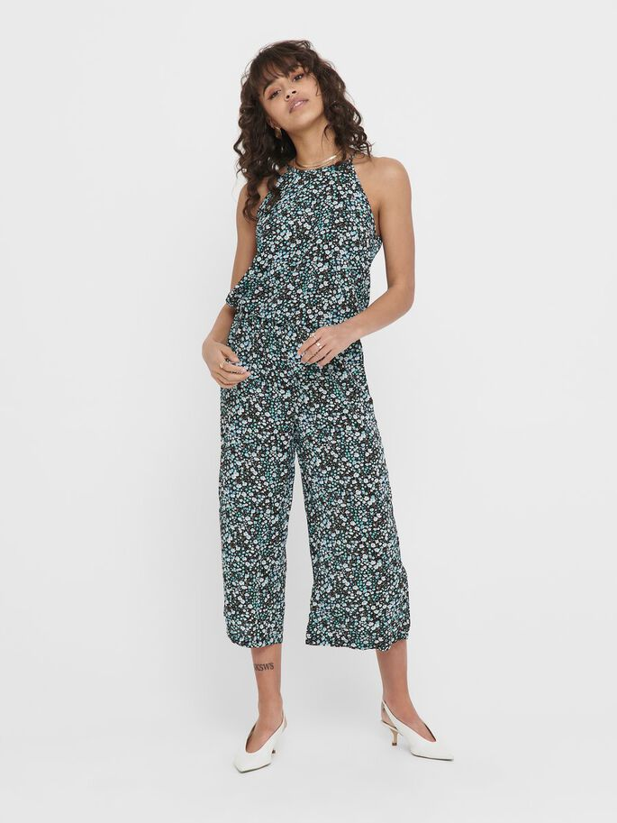 PRINTED JUMPSUIT, Night Sky, large