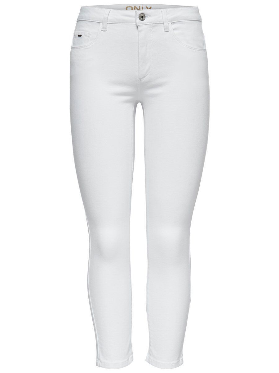 CARMEN REG CROPPED SKINNY FIT JEANS, White, large