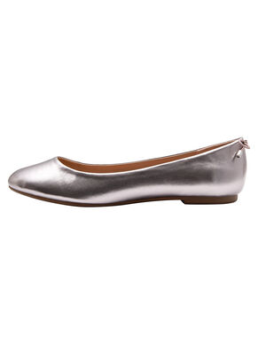 METALLIC LOOK BALLERINAS