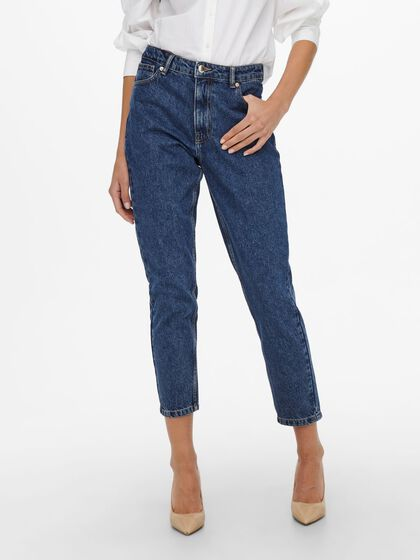 ONLJAGGER LIFE HIGH ANKLE MOM JEANS