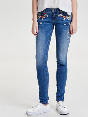 CORAL SUPERLOW JEANS SKINNY FIT