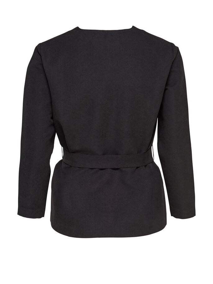 BELTE BLAZER, Black, large