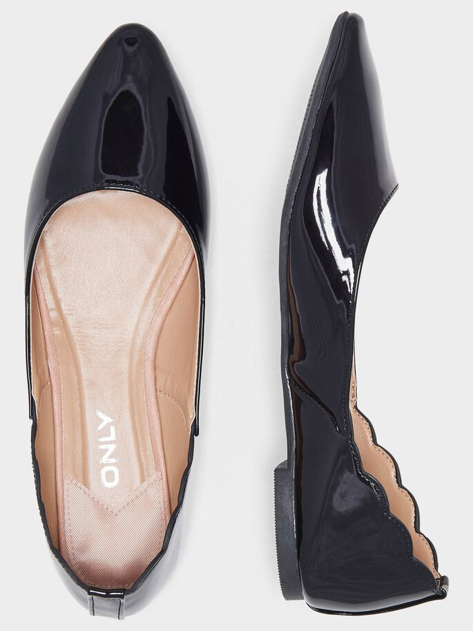 SHINY BALLERINAS, Black, large