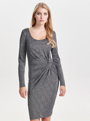 KNOT LONG SLEEVED DRESS
