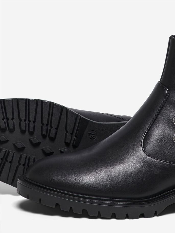 DETAILED BOOTS, Black, large