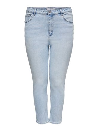 CURVY CARRICA LIFE ANKLE STRAIGHT FIT JEANS