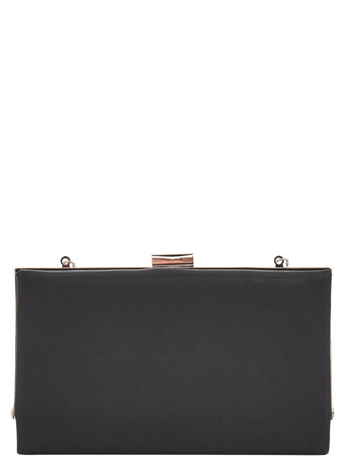 QUADRATISCHE PARTY- TASCHE, Black, large