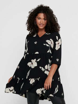 CURVY PRINTED DRESS