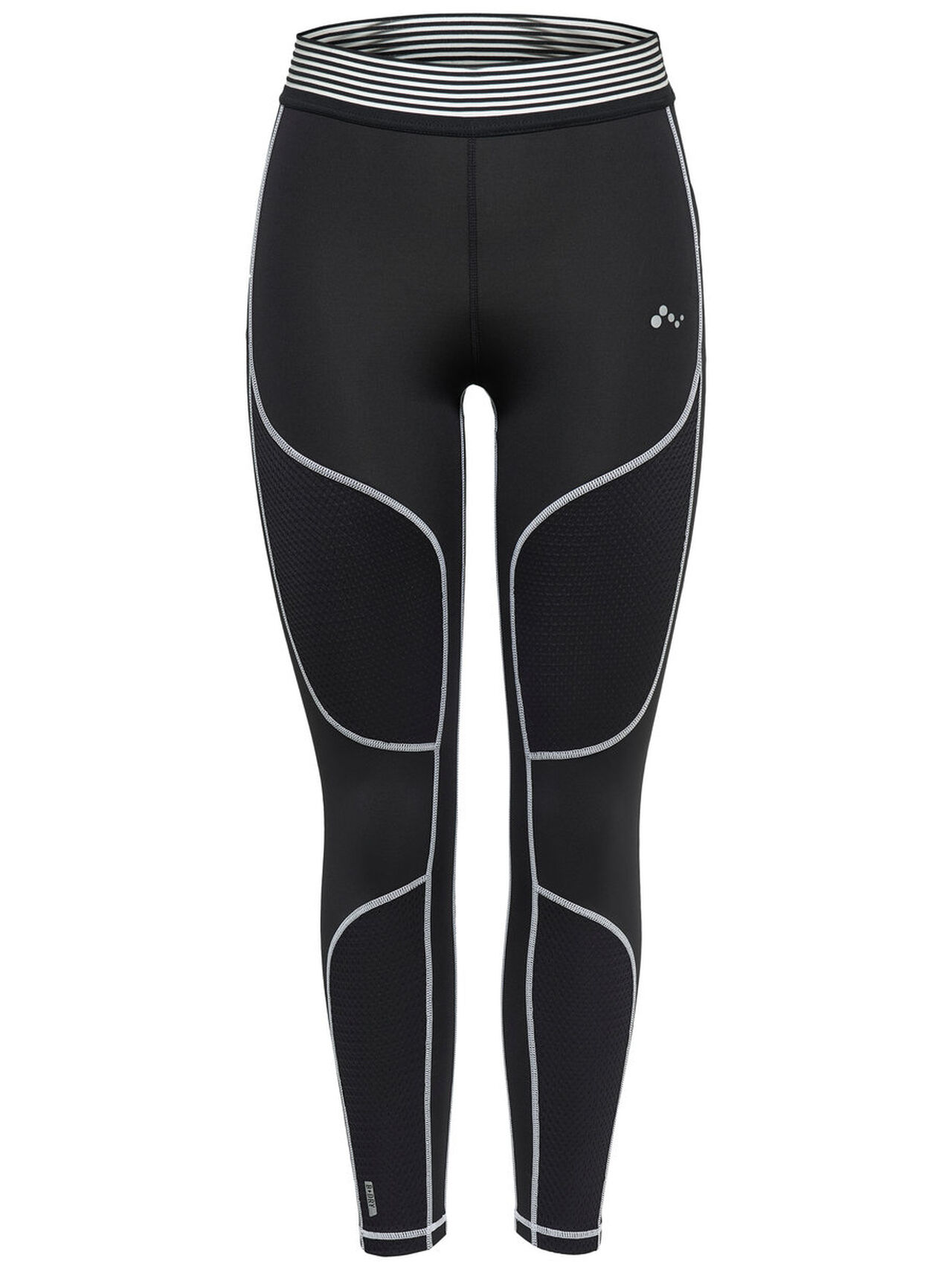 ONLY Contrast Training Tights Women Black