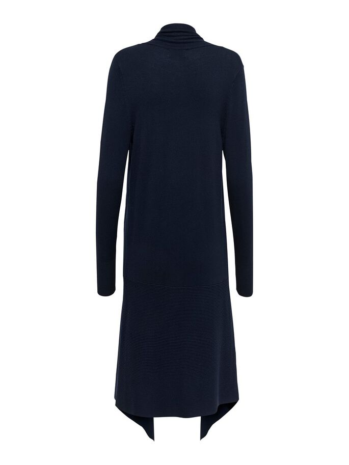 LONG KNITTED CARDIGAN, Night Sky, large