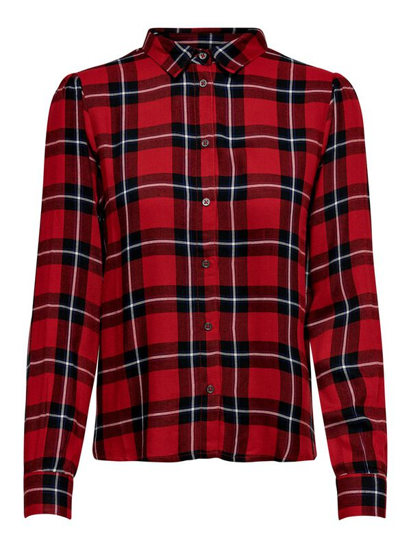 ONLY - only checked long sleeved shirt  - 1