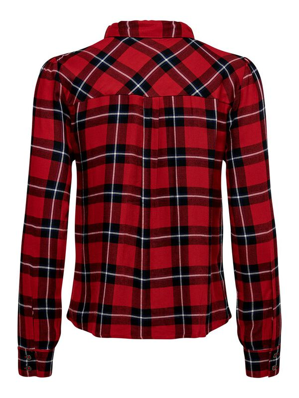ONLY - only checked long sleeved shirt  - 2