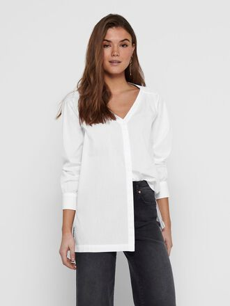 LONG LOOSE FITTED SHIRT