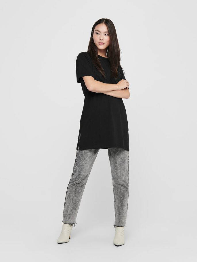 COUPE OVERSIZE TOP, Black, large