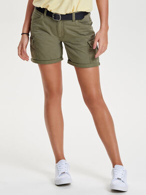 COULEUR UNIE SHORT CARGO