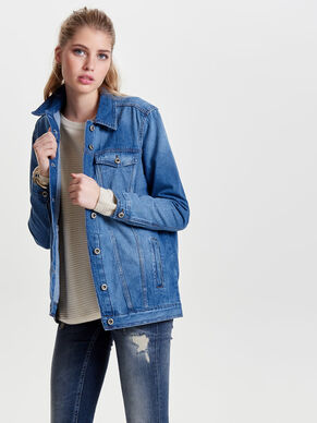 OVERSIZED DENIMJAKKE