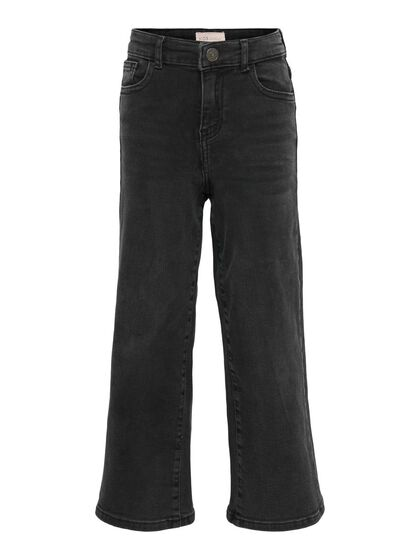 KONMADISON LIFE HW CROPPED  WIDE FLARED JEANS