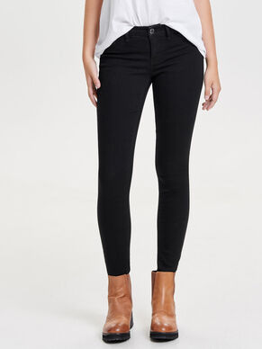 JDY LOW EAGLE BLACK SKINNY FIT JEANS
