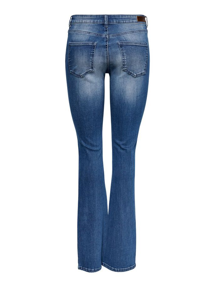 ONYHUSH LIFE MID JEAN ÉVASÉ, Dark Blue Denim, large