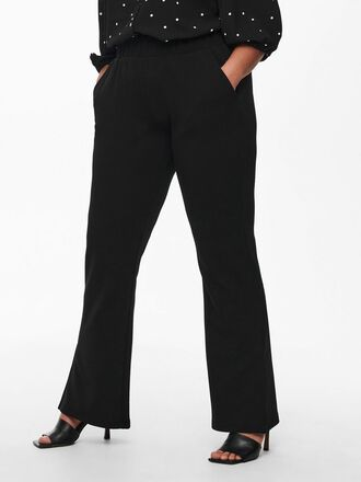 CURVY FLARED TROUSERS