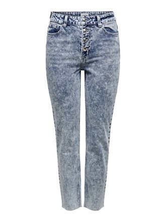 ONLEMILY HW STRAIGHT CROPPED STRAIGHT FIT JEANS