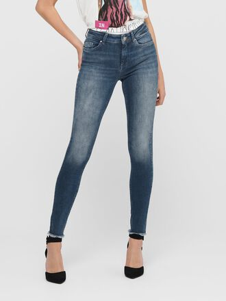 ONLBLUSH LIFE MID ANKLE SKINNY FIT JEANS