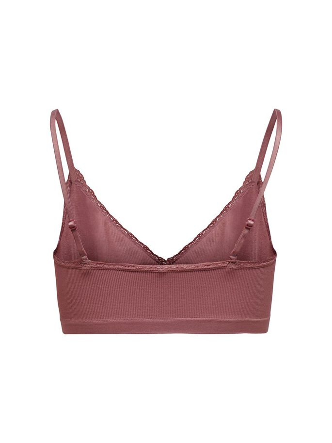 LACE TOP, Rose Brown, large