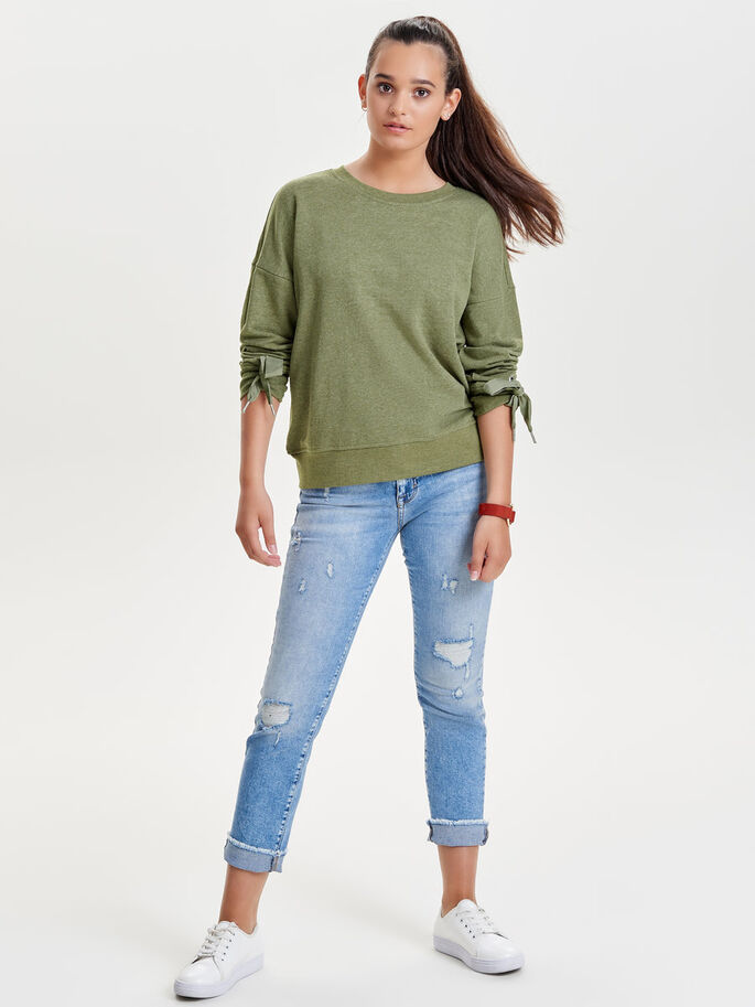 DETAILED SWEATSHIRT, Capulet Olive, large
