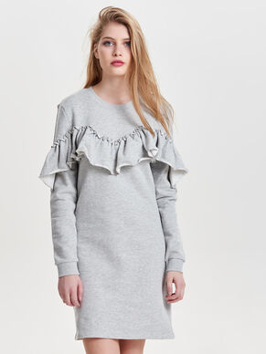 FRILL SWEAT DRESS