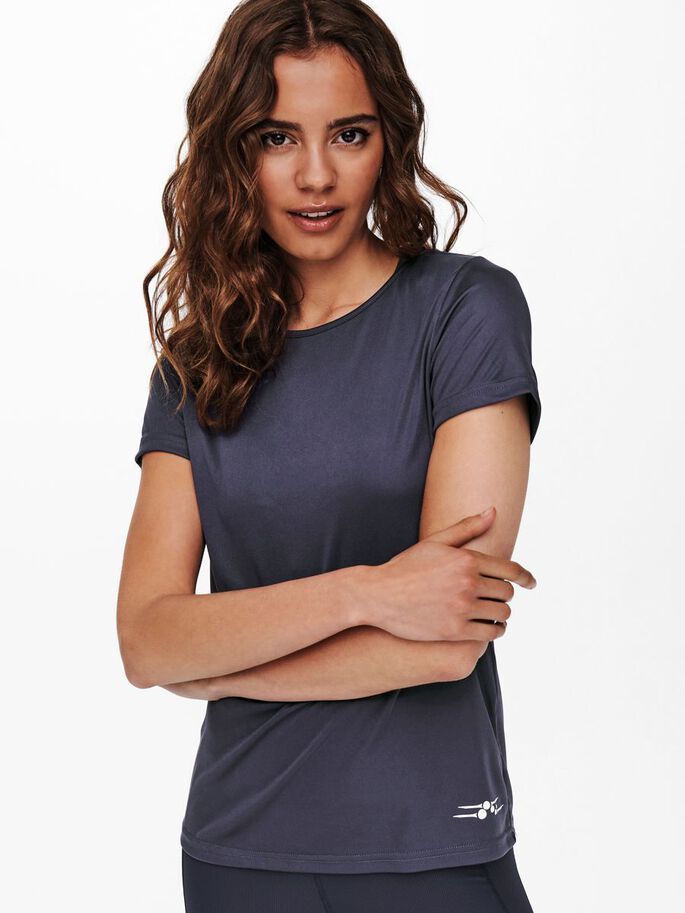 COUPE AMPLE T-SHIRT SPORT, Graystone, large