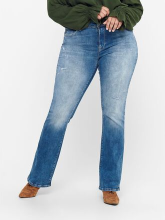 CURVY CARBOLL LIFE REG BOOTCUT JEANS