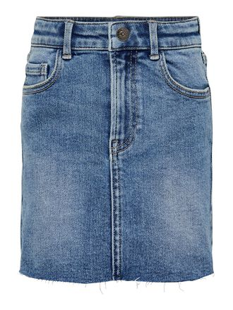 MIDI DENIM SKIRT