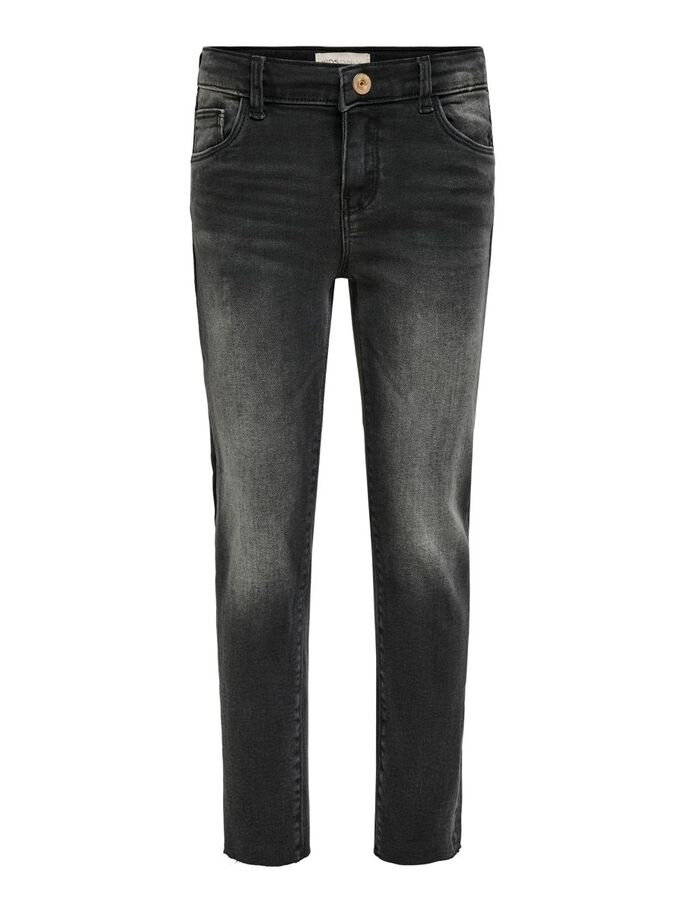 KONEMILY BLACK STRAIGHT FIT JEANS, Black Denim, large