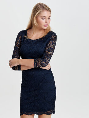 LACE DETAILED DRESS