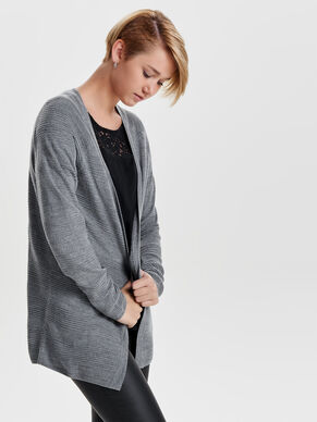 LOCKERER STRICK-CARDIGAN